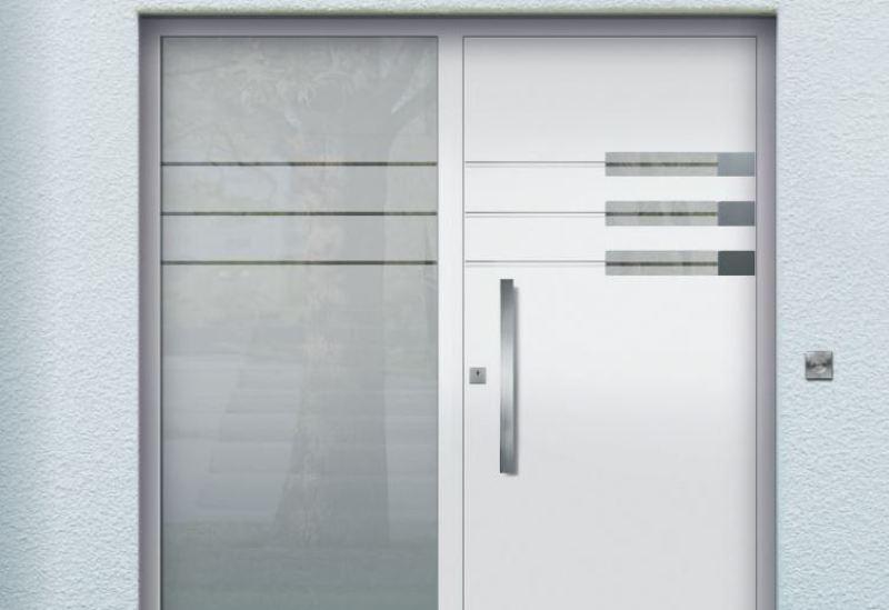 Aluminium-Haustür